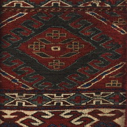 Anatolian soumak-woven Mafrash (bedding bag) panel late-19th century
